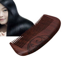 Hair Care Comb Anti-static Fragrant Natural Wood Wooden Carved Sandalwood Brush