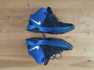 Nike Basketball Shoes - Black & Blue - Size 46 - UK 11