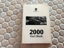 PORSCHE BOXSTER /S 996 MILLENNIUM FACT BOOK BROCHURE 2000 USA EDITION