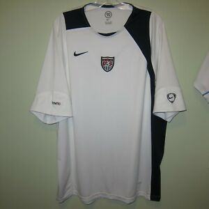 USMNT USA United States 2000s training jersey media shirt? Nike Dri-Fit XXL 2XL