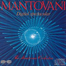 Mantovani-The Mantovani ORCHESTRA-CD-Digital spectacular (Giappone'82)