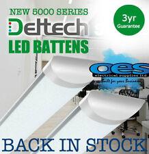 DELTECH LED BATTEN STRIP LIGHTS 2FT-6FT 20W-60W LONG LIFE LED TUBE LAMP
