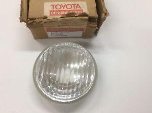 Toyota Land Cruiser FJ40 40 Series Fog Light Lamp Lens NOS Part # 81218-30010