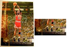Michael Jordan 2000 UD Hologram Gold Signature 1993 Record Setting Effort Card 3