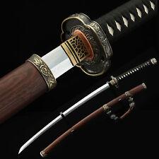 Tachi Sword, Real Handmade Full Tang Japanese Katana Samurai Sword