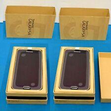 2 New Samsung Galaxy S5 SM-G900V 16GB Charcoal Black Verizon Unlocked Smartphone