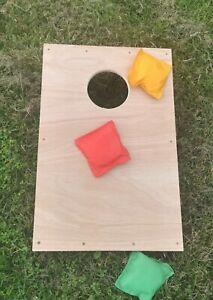 Cornhole Bean Bag Toss Game Garden Party Game Wedding Summer Fair Fete Throwing