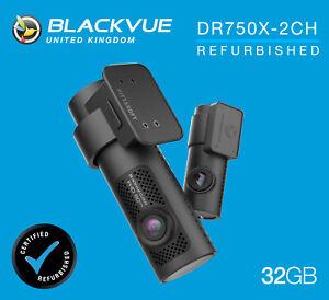 BlackVue Dash Cam DR750X-2CH Front and Rear Wi-Fi GPS (32GB) - REFURB