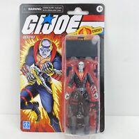 BENT! GI JOE DESTRO Retro Walmart Exclusive 3.75 Inch Action Figure Hasbro
