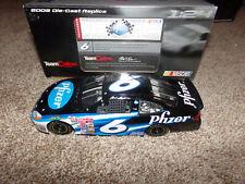 1/24 MARK MARTIN #6 PFIZER 2002 TEAM CALIBER NASCAR DIECAST