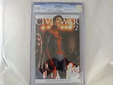 MARVEL COMICS CIVIL WAR #2 McNIVEN SPOILER COVER SPIDER-MAN UNMASKED CGC 9.4