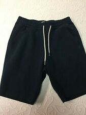 Hollister Blue Cotton/Polyester Athletic Shorts