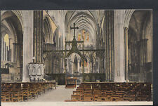 Wiltshire Postcard - Salisbury Cathedral, The Screen    RS5054