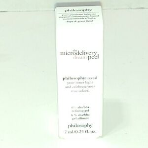 Philosophy The Microdelivery Dream Peel 0.24 fl.oz. Travel Size New
