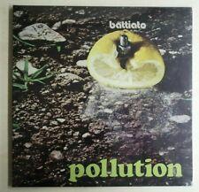 lp Franco Battiato – Pollution - VINILE 180 GR. NUOVO COPERTINA SEGNATA