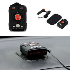 360° 16 Band Car Pickup Truck Radar Detector LED Display Voice Alert Laser Alarm