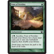 4x 4 x Font of Fertility x4 MTG Journey into Nyx  MINT PACK FRESH UNPLAYED