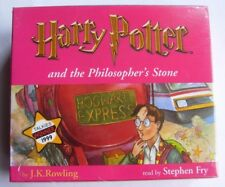 Harry Potter and The Philosopher's Stone 7cd Audio Book Stephen Fry FASTPOST