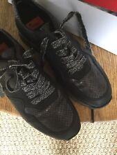 c34b5512066d13 Rieker Chaussures Femme Baskets Sneakers Décontractées M3705-45 Gris Argent