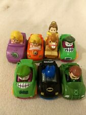 Fisher Price Little People Wheelies Vehicle Car Lot of Batman DC Disney