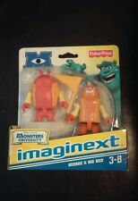 New 2012 Fisher Price Imaginext Disney Pixar Monsters University George & Big.