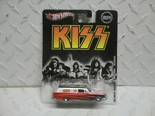 Hot Wheels Pop Culture KISS Red/White '59 Chevy Delivery Wagon