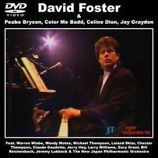 DAVID FOSTER @LIVE '94 DVD Jay Graydon+Warren Wiebe+Peabo Bryson+Celine Dion AOR