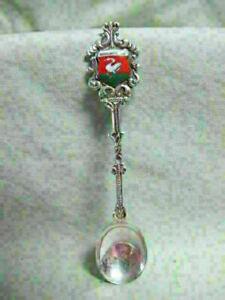 Vintage Sterling Enamel  Souvenir Spoon  - Broek in Waterland