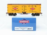 HO Scale Roundhouse RND85536 CFX California Fruit Express 36' Wood Reefer #28515