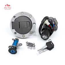 For Yamaha TZR125 TZM150 TZR150 TDM850 Ignition Switch Gas Cap Seat Lock Key Set