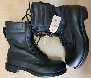 Genuine Original British RAF Black Air Crew Pilot Leather Boots 248/94 #4