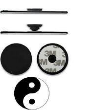 Pull Up Holder Expanding Stand Hand Grip Mount YING-YANG Sticker