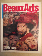 Beaux Arts magazine n° 3 Exposition : James Ensor. Le style panache en Inde