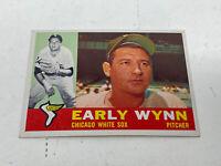 1960 Topps #1 Early Wynn Card HOF Chicago White Sox baseball vintage