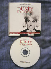 THE BEST OF DUSTY SPRINGFIELD VOLUME 1 PROMO CD. Sunday Express. New/Unplayed.