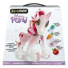Kids Zoomer Show Pony Interactive Pet Toy Robot Realistic Sounds Girls Gift