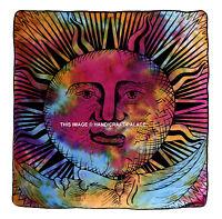 Indien Soleil Lune Mandala Pouf Boho Coussin Ottomane Pouf Chien Lit 88.9cm