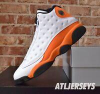 Nike Air Jordan 13 Retro Starfish White Orange 414571-108 GS Men Size