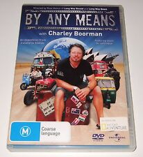 By Any Means with Charley Boorman (DVD, 2008, 2-Disc Set)