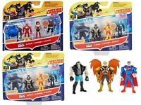 DC COMICS JUSTICE LEAGUE ACTION MIGHTY MINIS SET OF 3 ACTION FIGURES