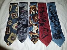American Film Classics Gone with the Wind Mens Silk Neck Tie