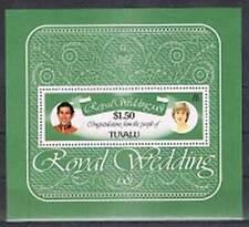 Tuvalu postfris 1981 MNH block 5 - Huwelijk Charles en Diana (X785)