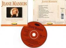 "JEANE MANSON ""Gold"" (CD) 15 Titres 1994"