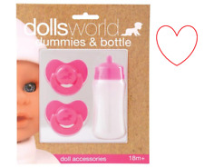 Girls Boys Doll Accessories Pacifier Dummy Bottle Baby Toy