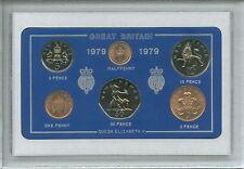 1979 Vintage Coin Set 39th Anniversaire Naissance Année Cadeau Anniversaire De Mariage Cadeau