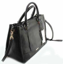 Rebecca Minkoff Hs16ipbs31 Regan Satchel Tote Black Leather