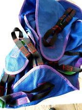 NEW ~ INVACARE ~ Full Body Adult Lift Sling ~ R114 Med Blue ~ Mesh w/ Manual