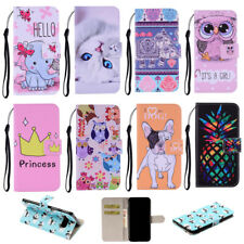 Colorful PU Leather Wallet Phone Case Cover For Samsung S10 S9 S8 Plus S7 edge