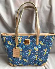 Run Disney 2017 TinkerBell Marathon Dooney & And Bourke Shopper Tote Bag Purse M