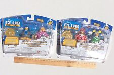 DISNEY Club Penguin Figure COIN New In Pack x 2 Football Series 9 Toys